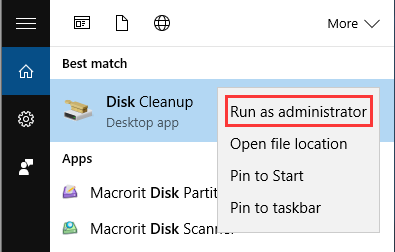 run_disk_cleanup
