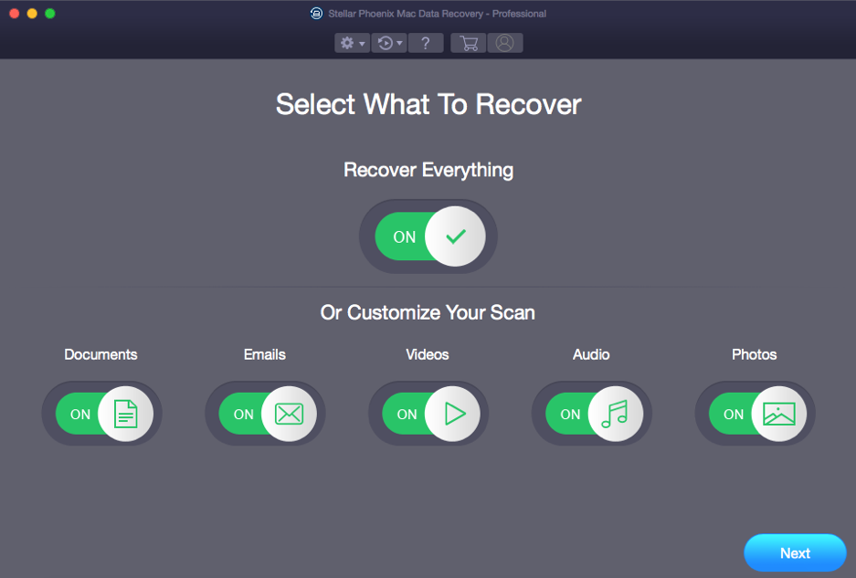 Mac Data Recovery Professionelle