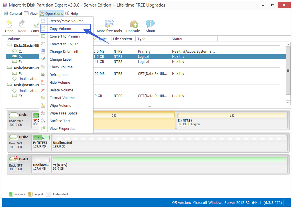 How to Copy GPT Partition to SSD without data loss