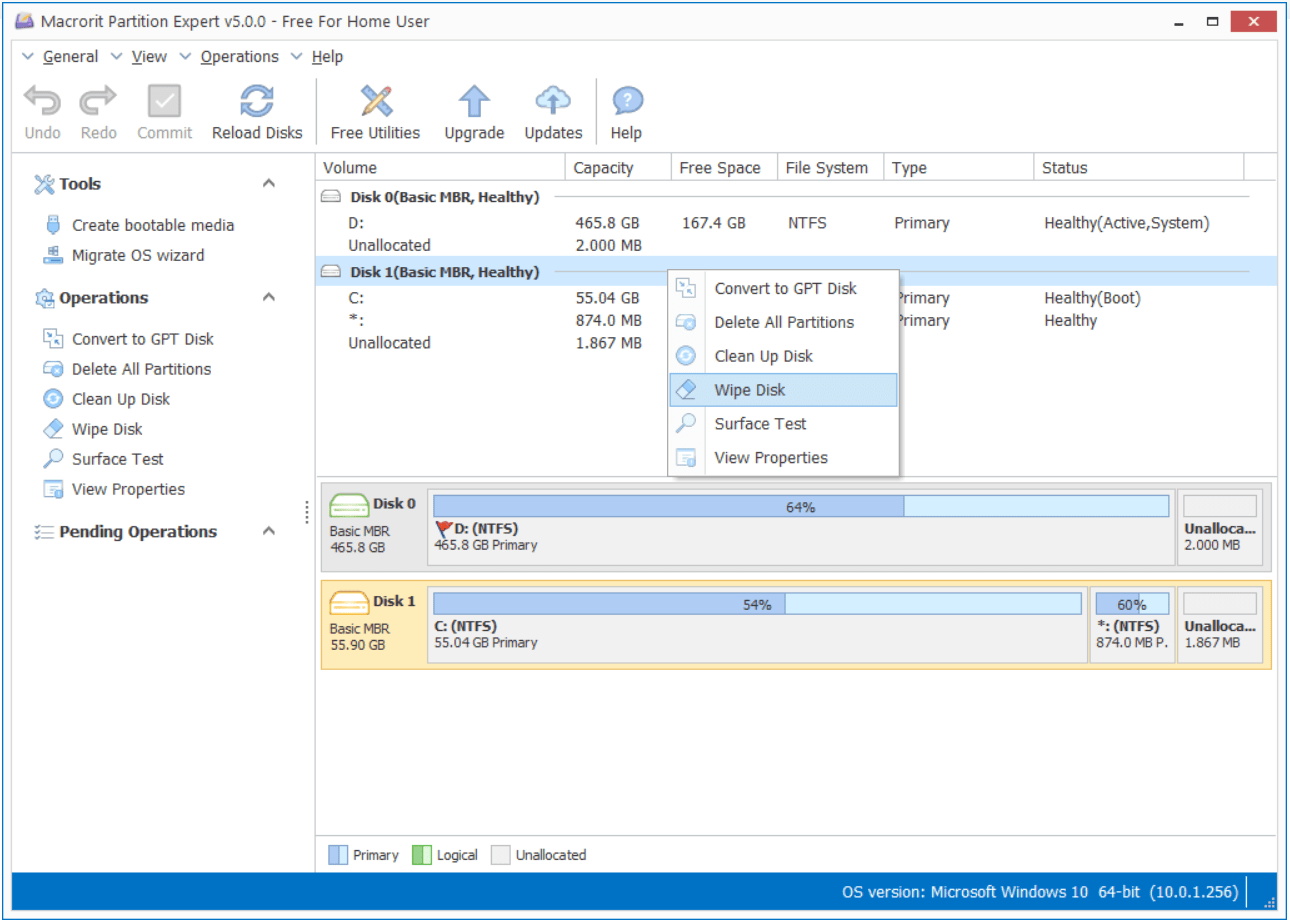 How to wipe SD card in Windows 10 – Partition Expert