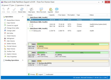 Macrorit Disk Partition expert - Free Edition