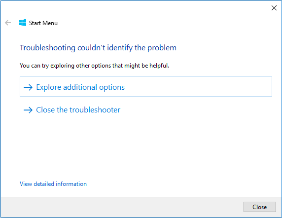 troubleshooting_couldnt_identify_the_problem