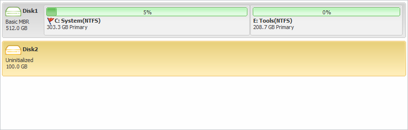 wipe_hard_drive_become_unallocated