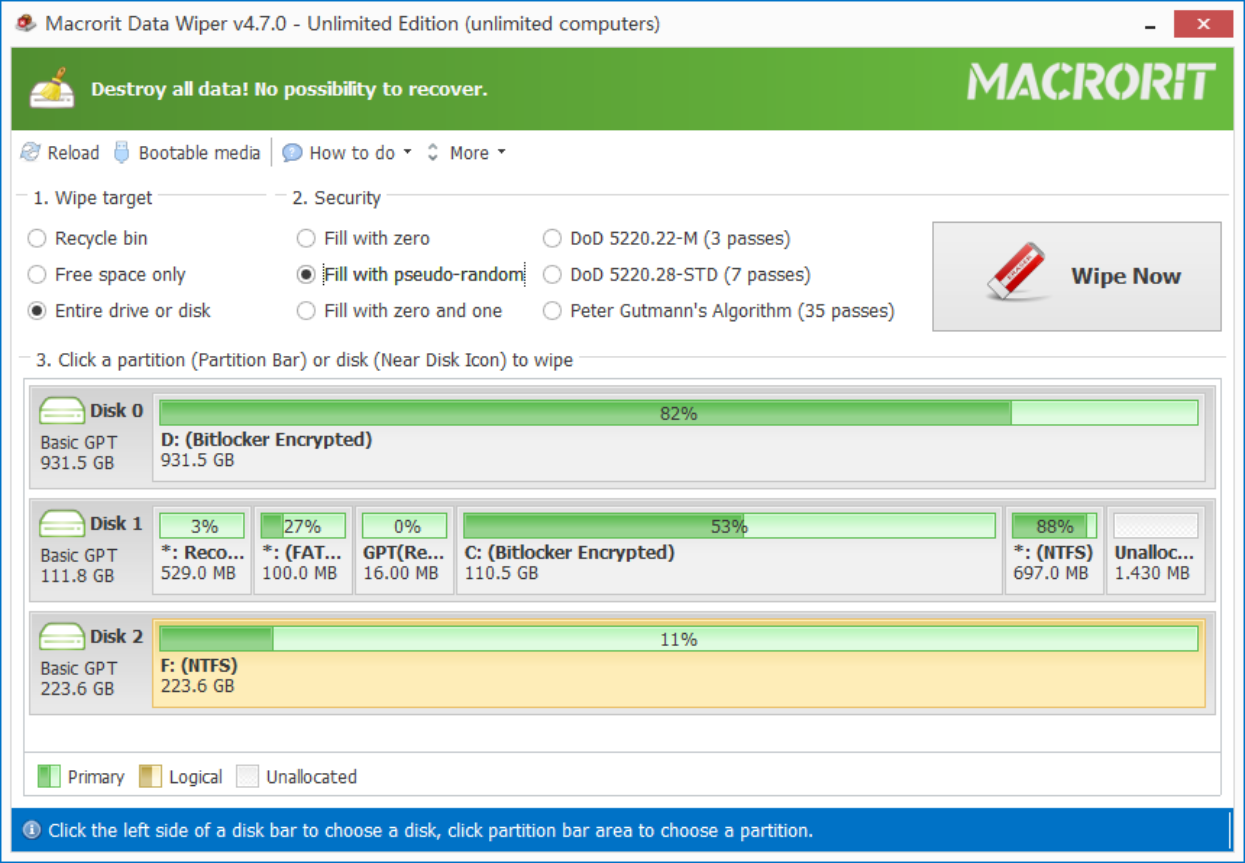 Macrorit Data Wiper Free